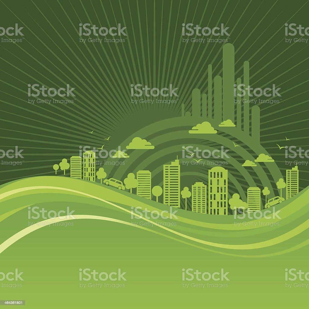 eco friendly concept royalty-free stock vector art