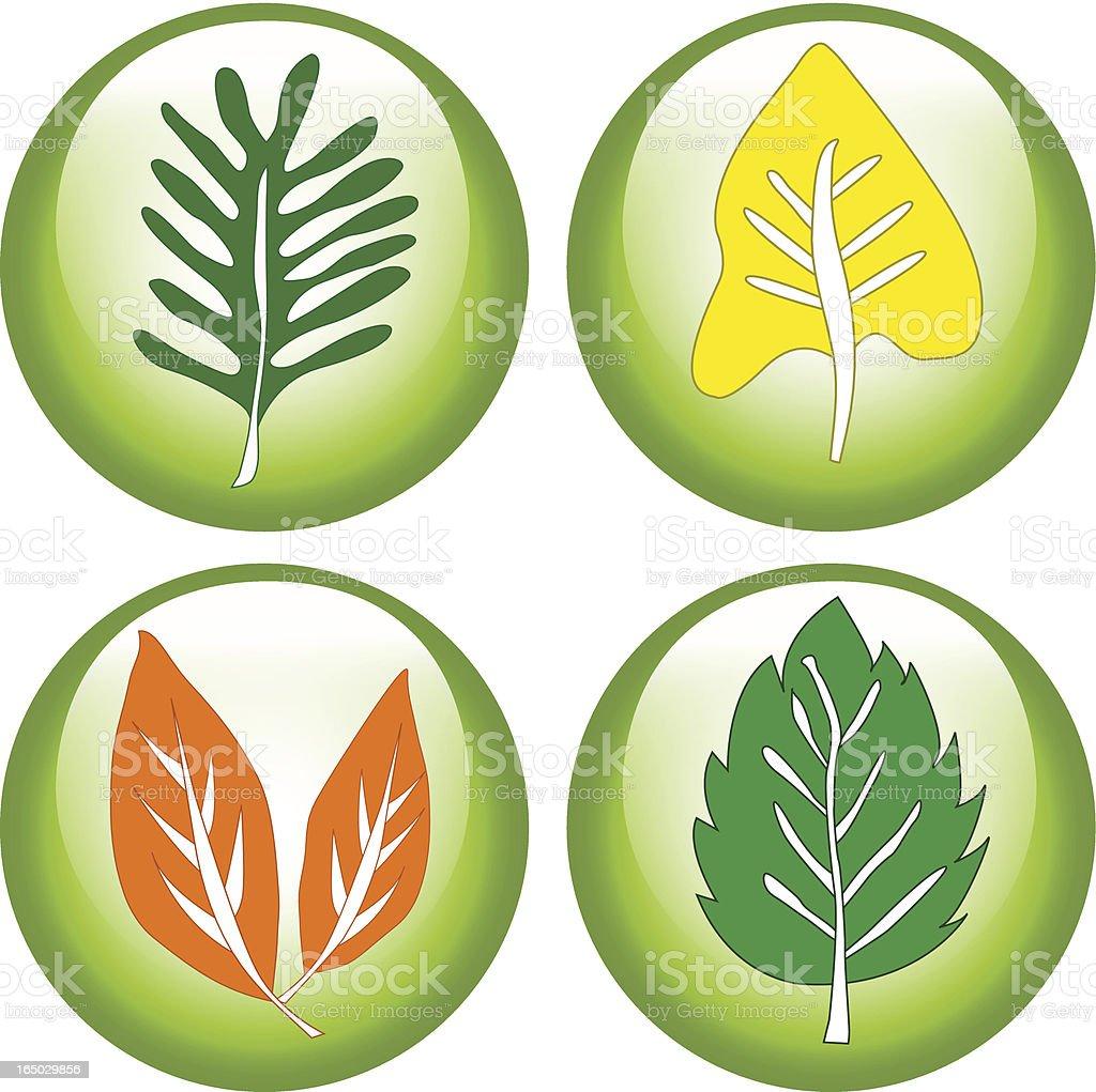 Eco Friendly Icons ( Vector ) royalty-free stock vector art