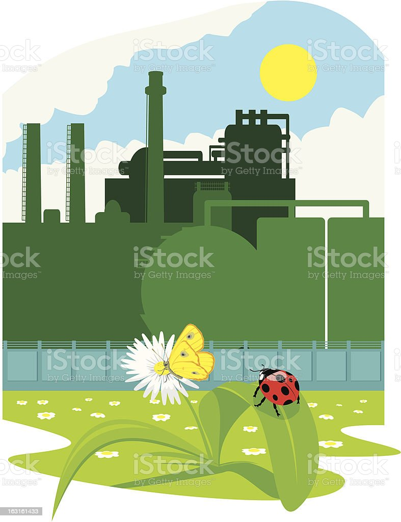 eco friendly industry royalty-free stock vector art