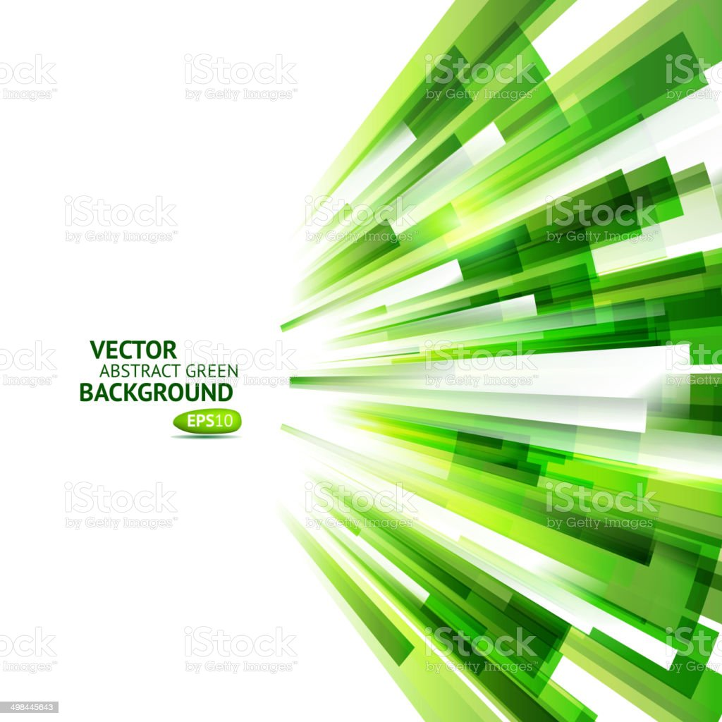 Eco friendly speed technology background vector art illustration