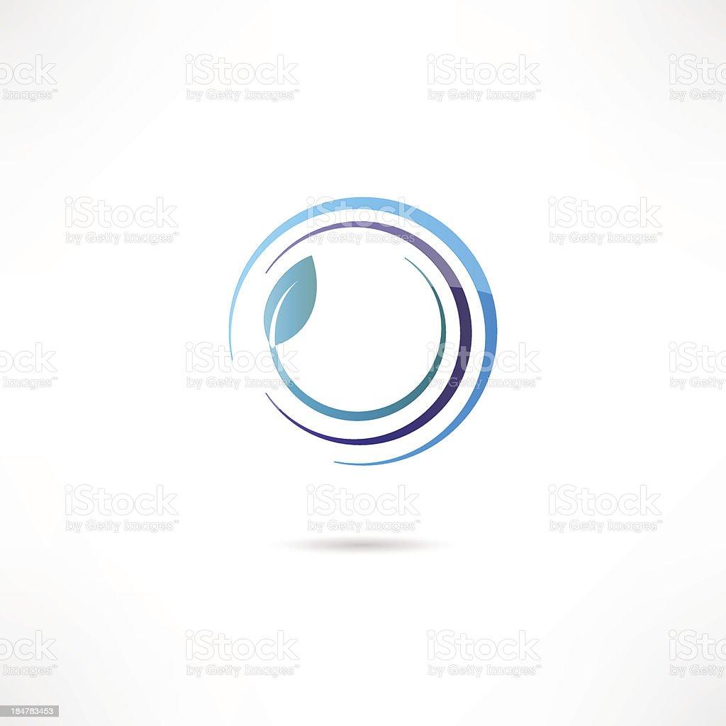 Eco icon royalty-free stock vector art