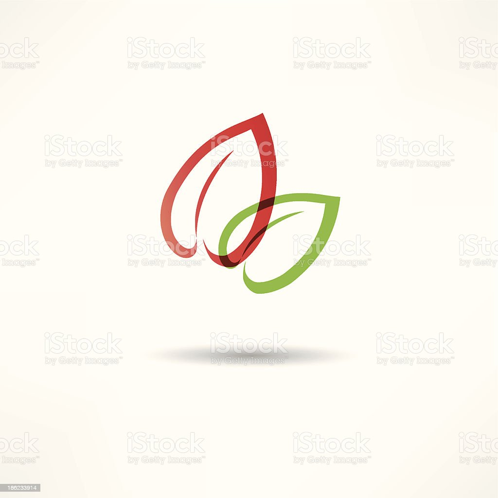 Eco icon royalty-free stock vector art