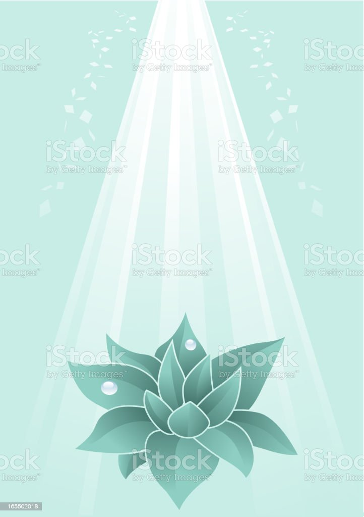 Eco Leaf Background royalty-free stock vector art