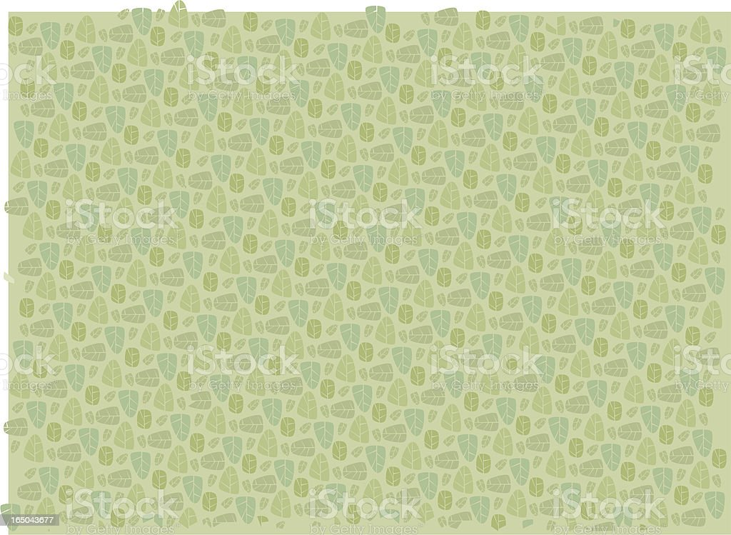 Eco Leaf Light Pattern royalty-free stock vector art