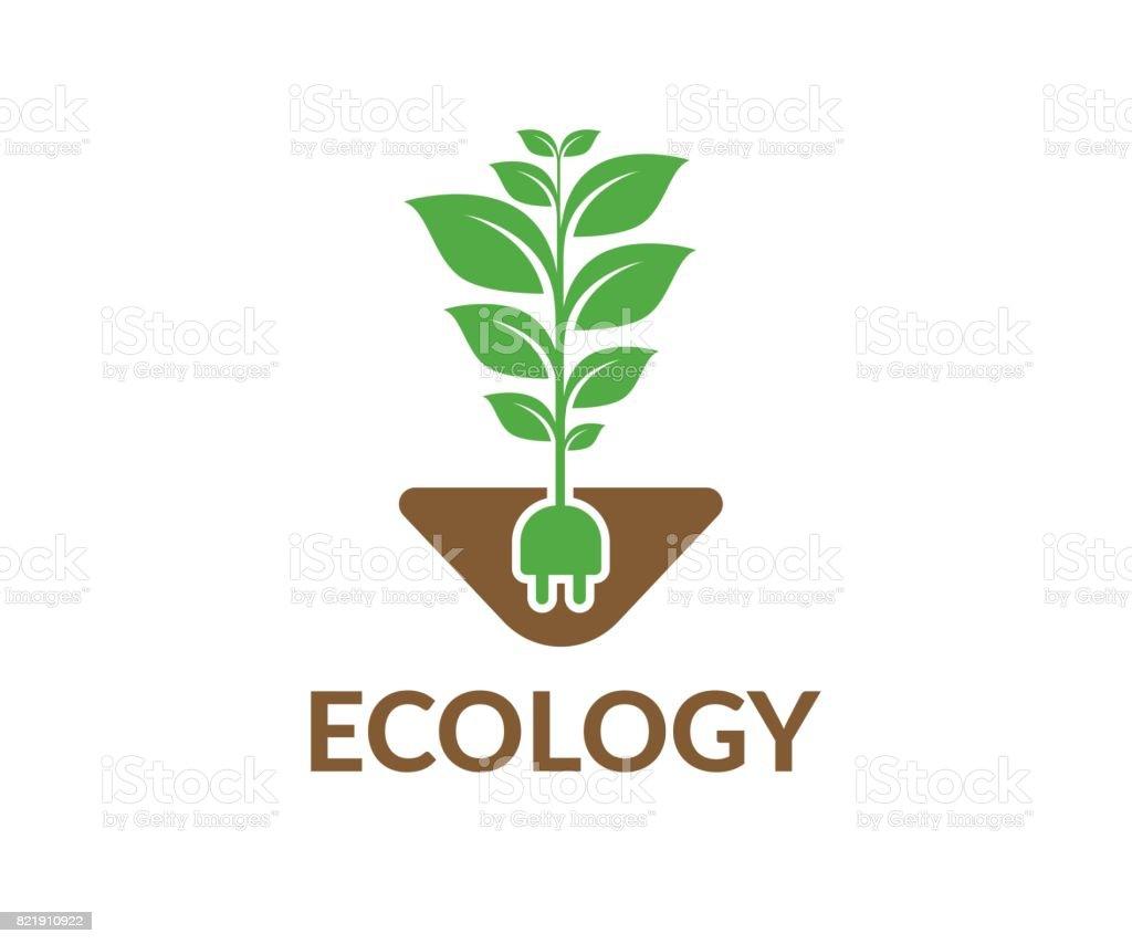 Eco vector icon vector art illustration