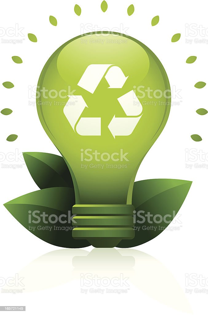 Eco-Friendly Idea royalty-free stock vector art
