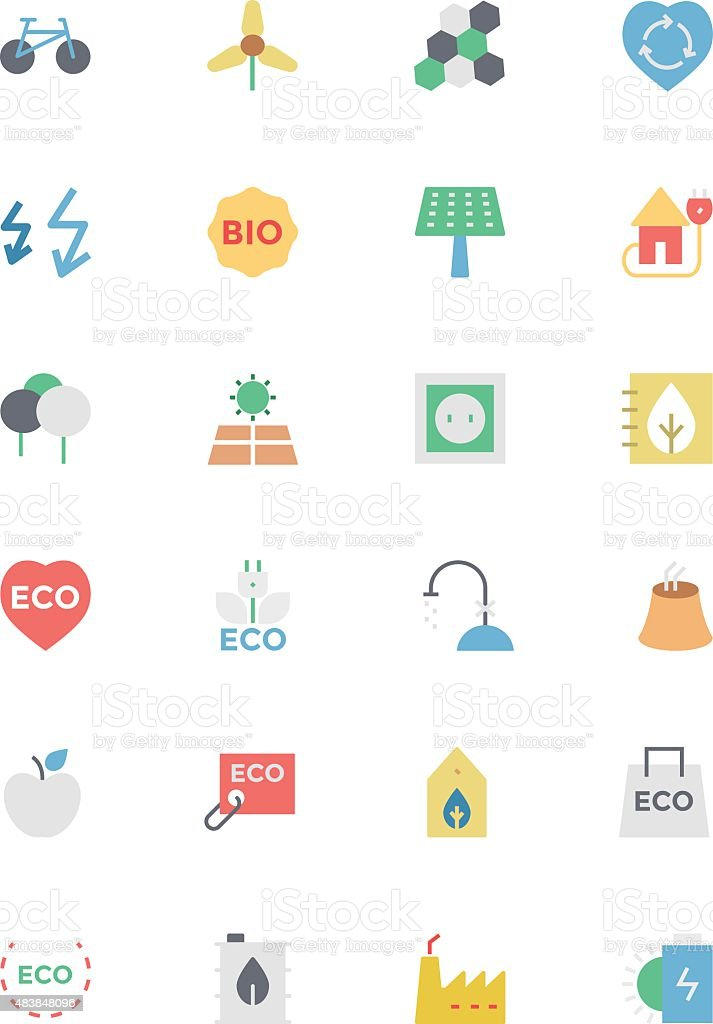 Ecology 5 vector art illustration