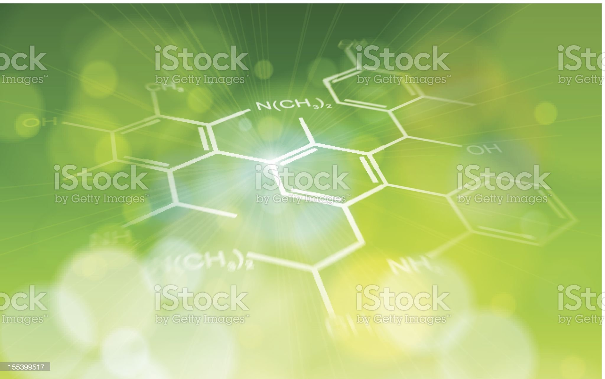 ecology background: chemical formulas royalty-free stock vector art