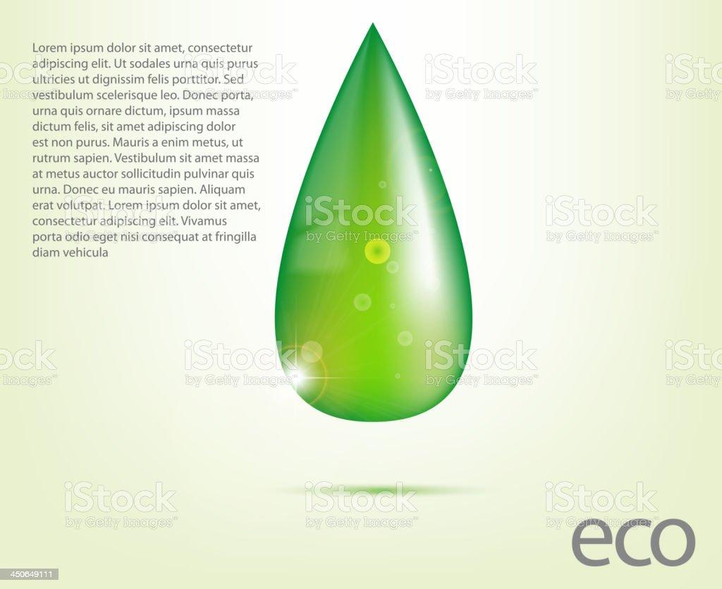 Ecology element vector art illustration