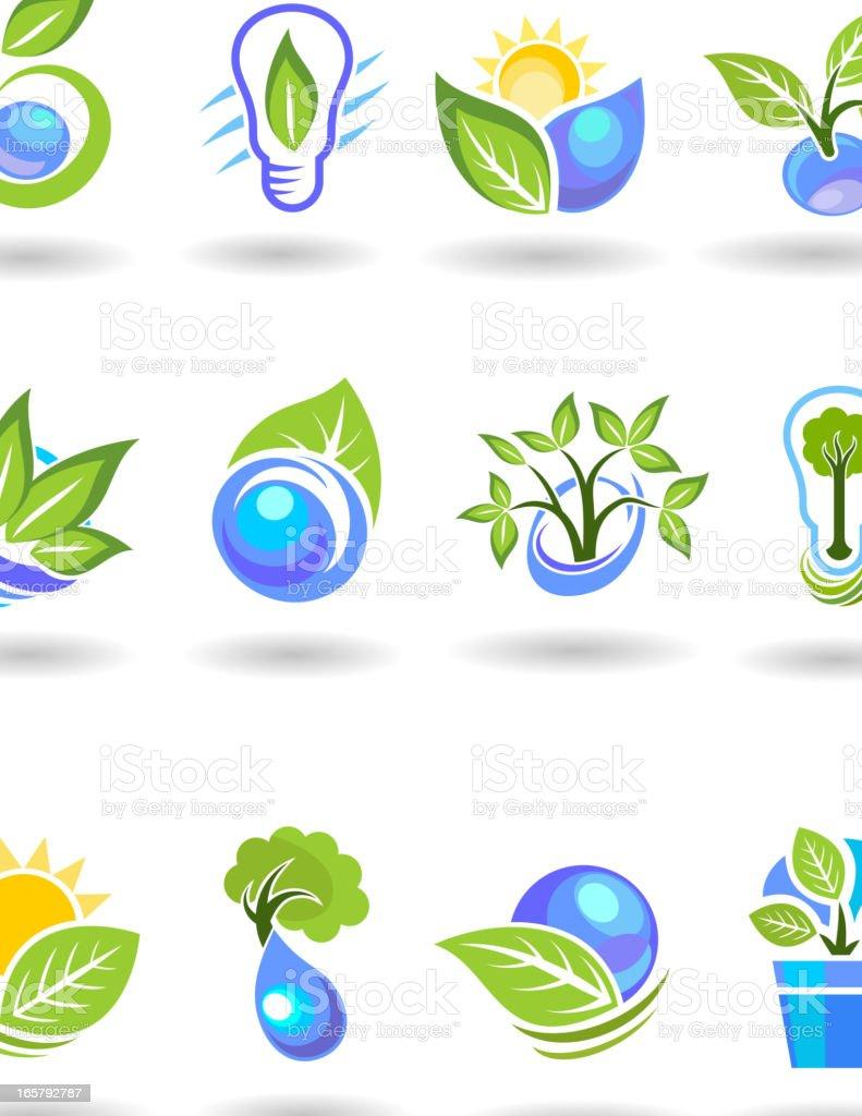 Ecology Symbols royalty-free stock vector art