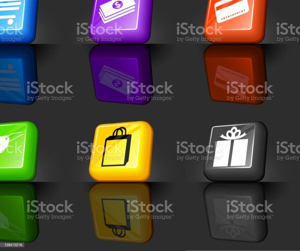 e-commerce internet royalty free vector icon set royalty-free stock vector art