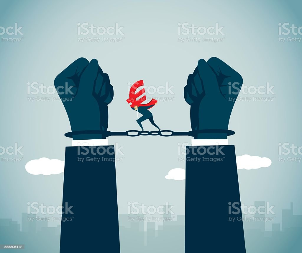 Economic Crimes vector art illustration