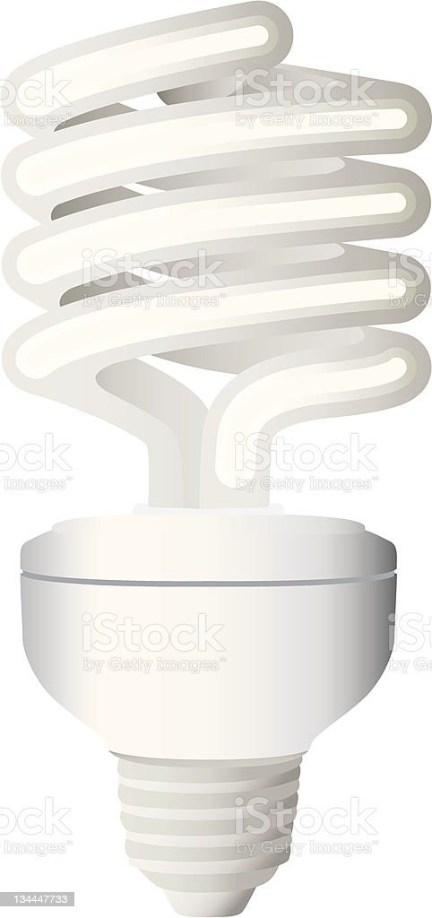 Economic Lamp royalty-free stock photo