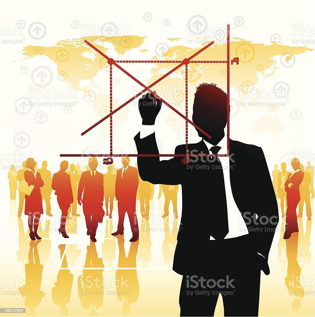 Economics royalty-free stock vector art