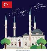 Edirne (Üç Şerefeli Camii)