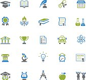 Education and Graduation Icons