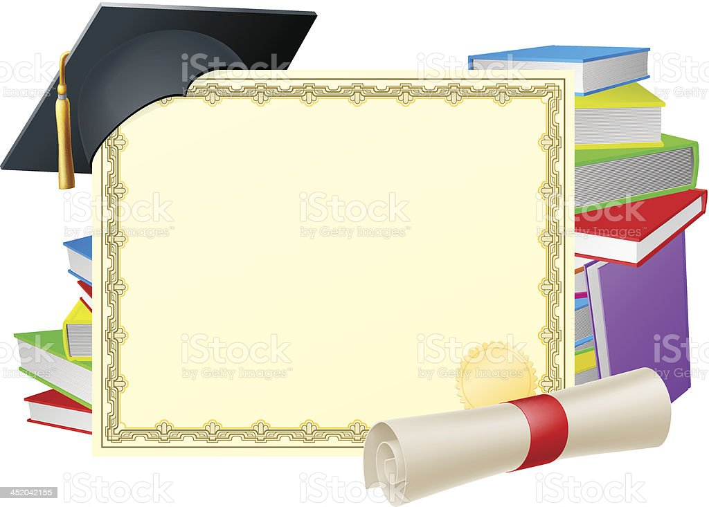 Education background royalty-free stock vector art