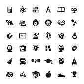 Education & Graduation vector symbols and icons