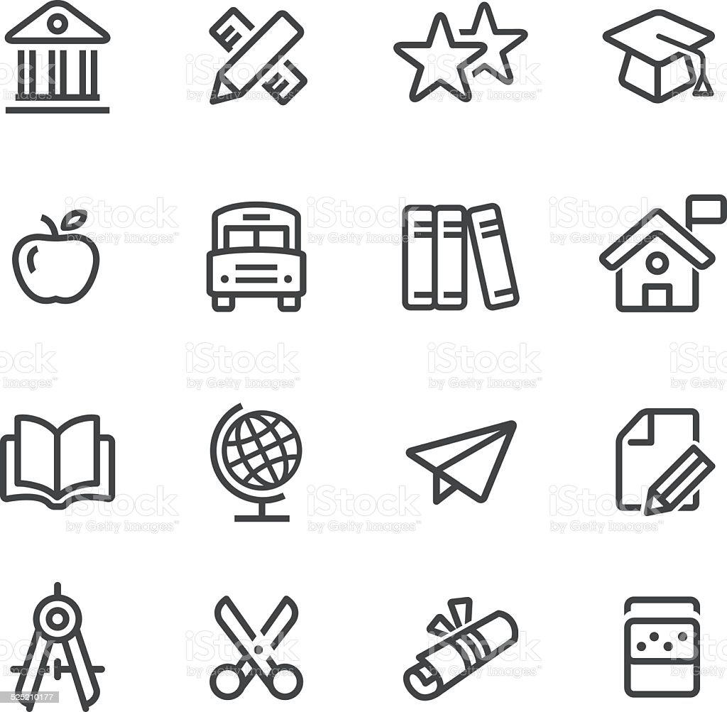 Education Icon - Line Series vector art illustration