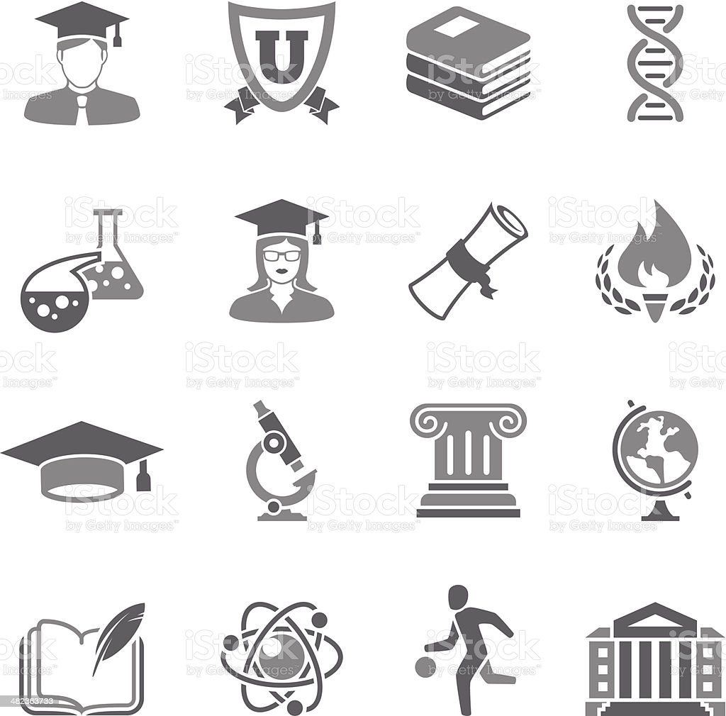 Education Icon royalty-free stock vector art
