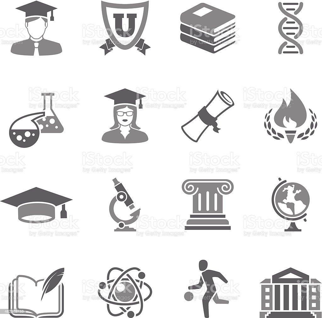 Education Icon vector art illustration