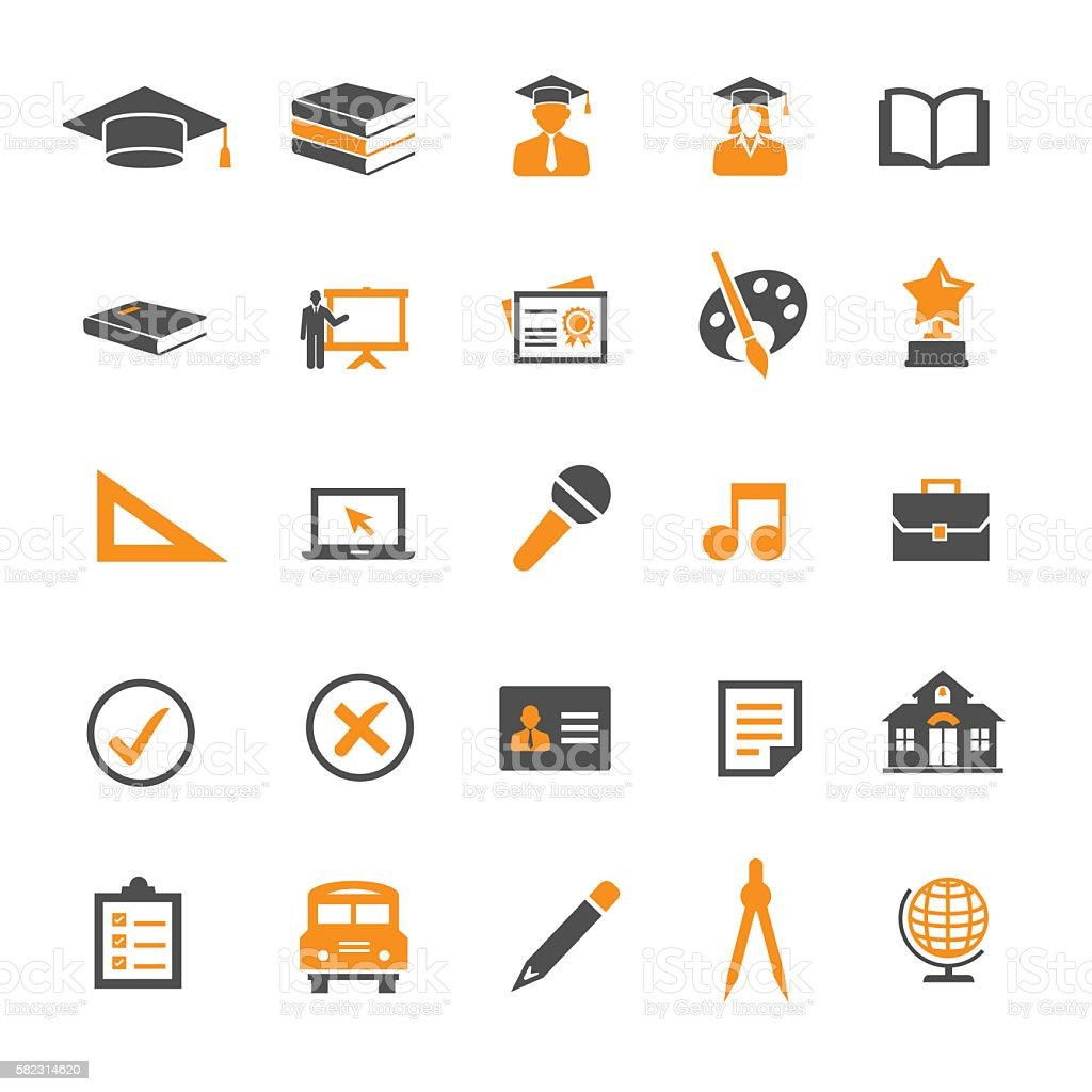 Education Icon vector art illustration