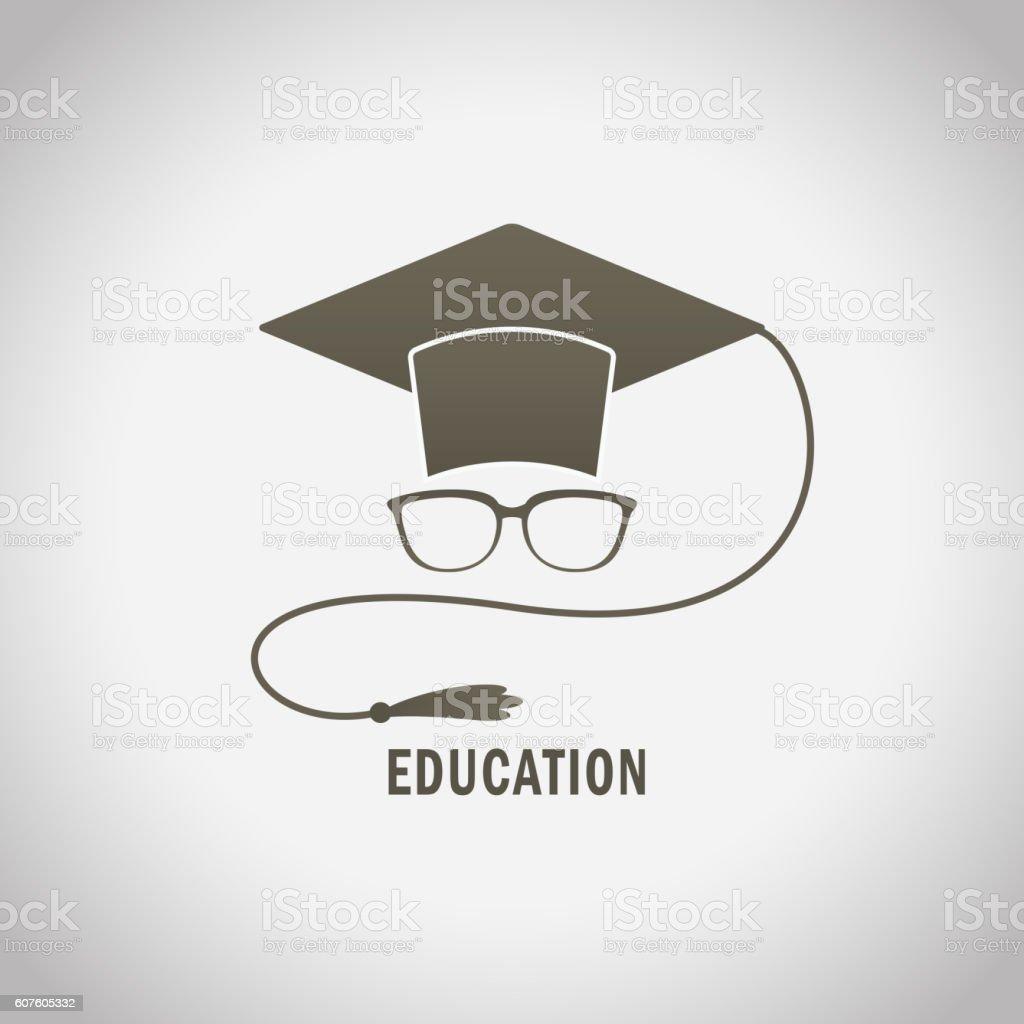 Education illustration design vector art illustration