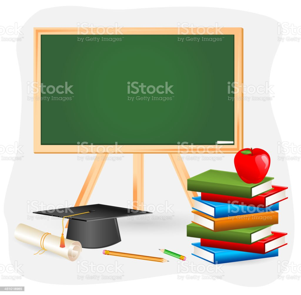 Education Object royalty-free stock vector art