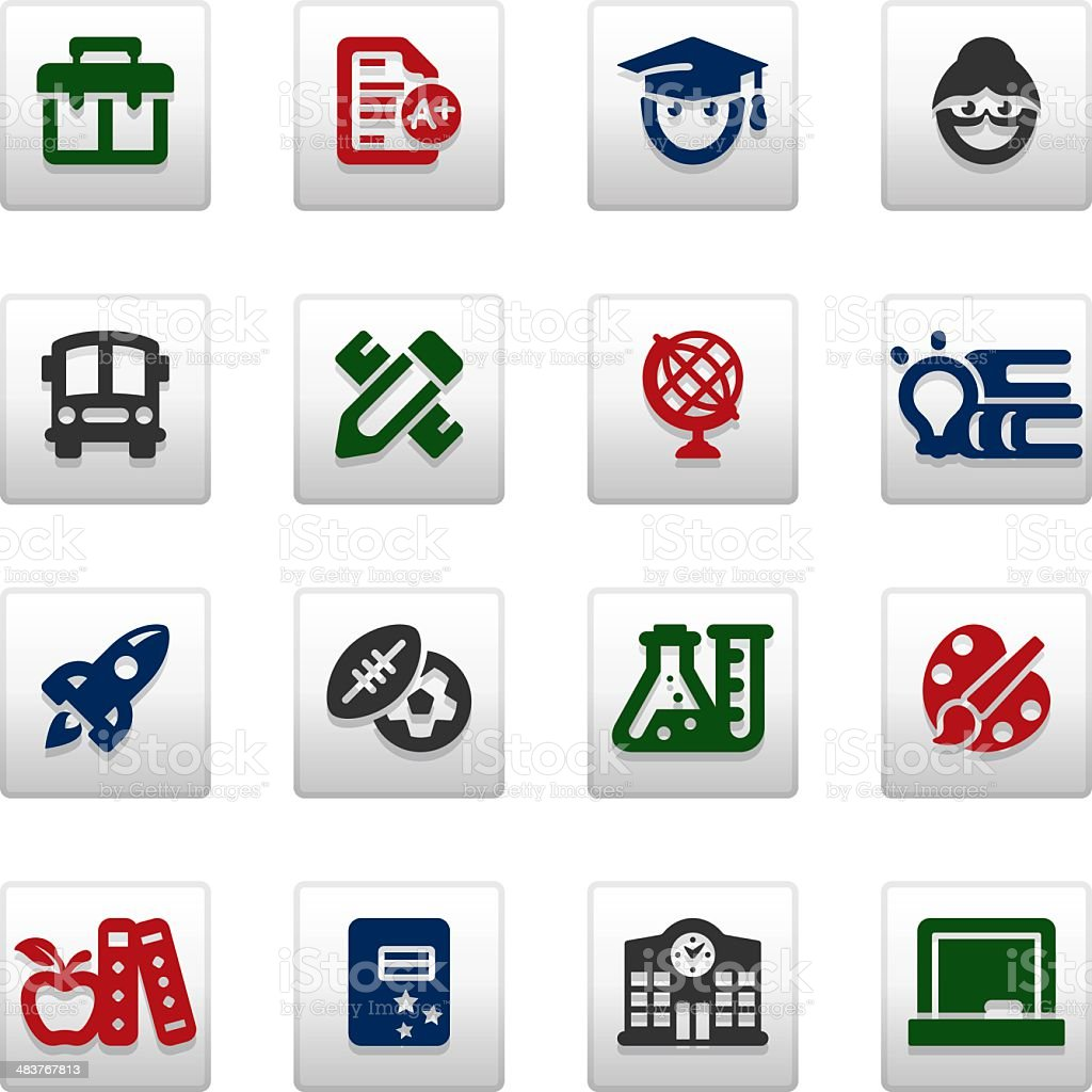 Education_Vividy series_25 royalty-free stock vector art