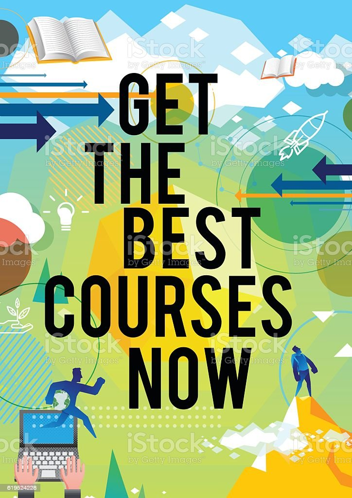 Educational Poster Design stock vector art 619524228 | iStock