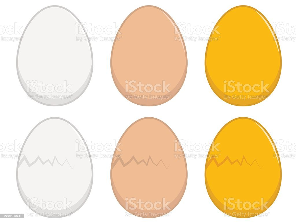 Egg Illustration vector art illustration
