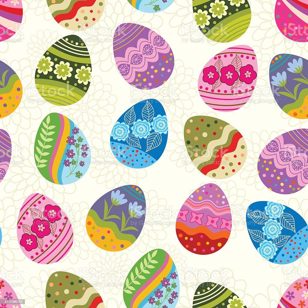 Egg pattern . royalty-free stock vector art