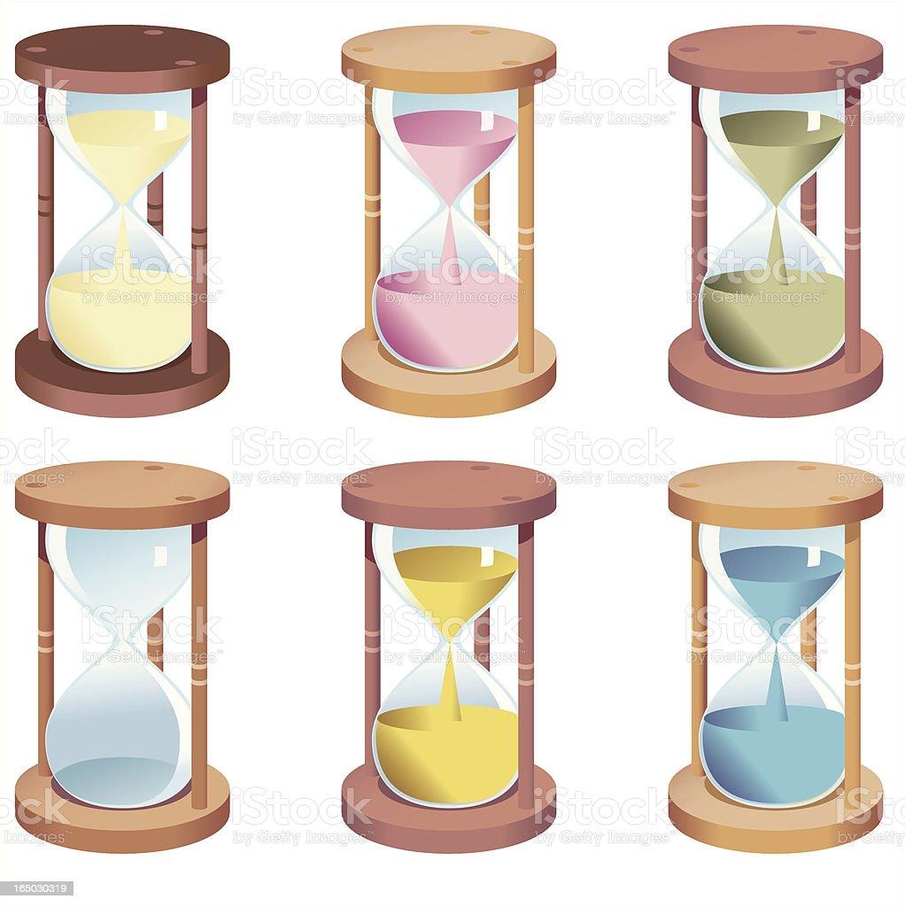 Egg timer royalty-free stock vector art