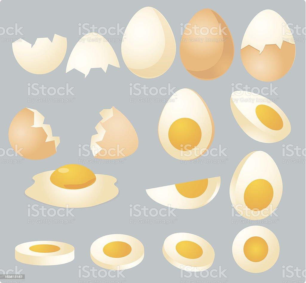 Eggs illustration royalty-free stock vector art