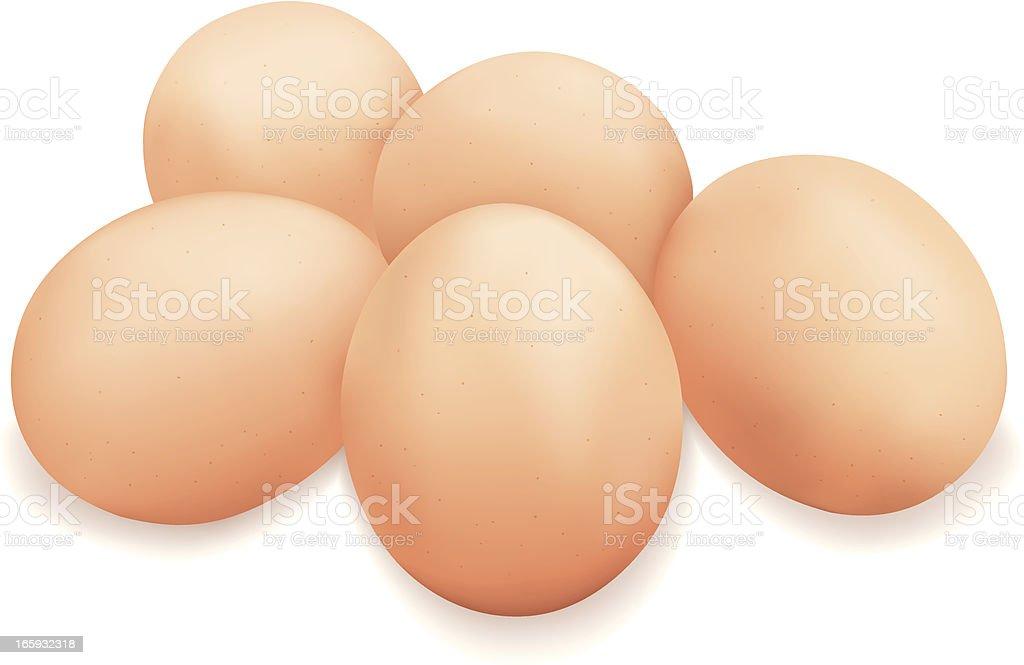 Eggs royalty-free stock vector art