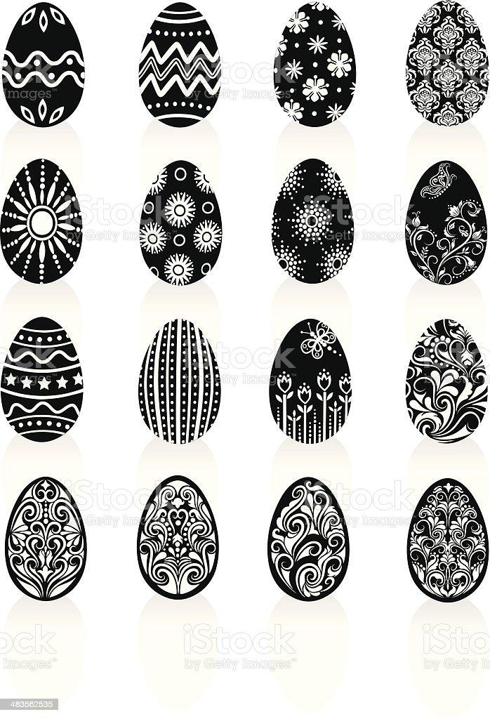 Eggs. royalty-free stock vector art