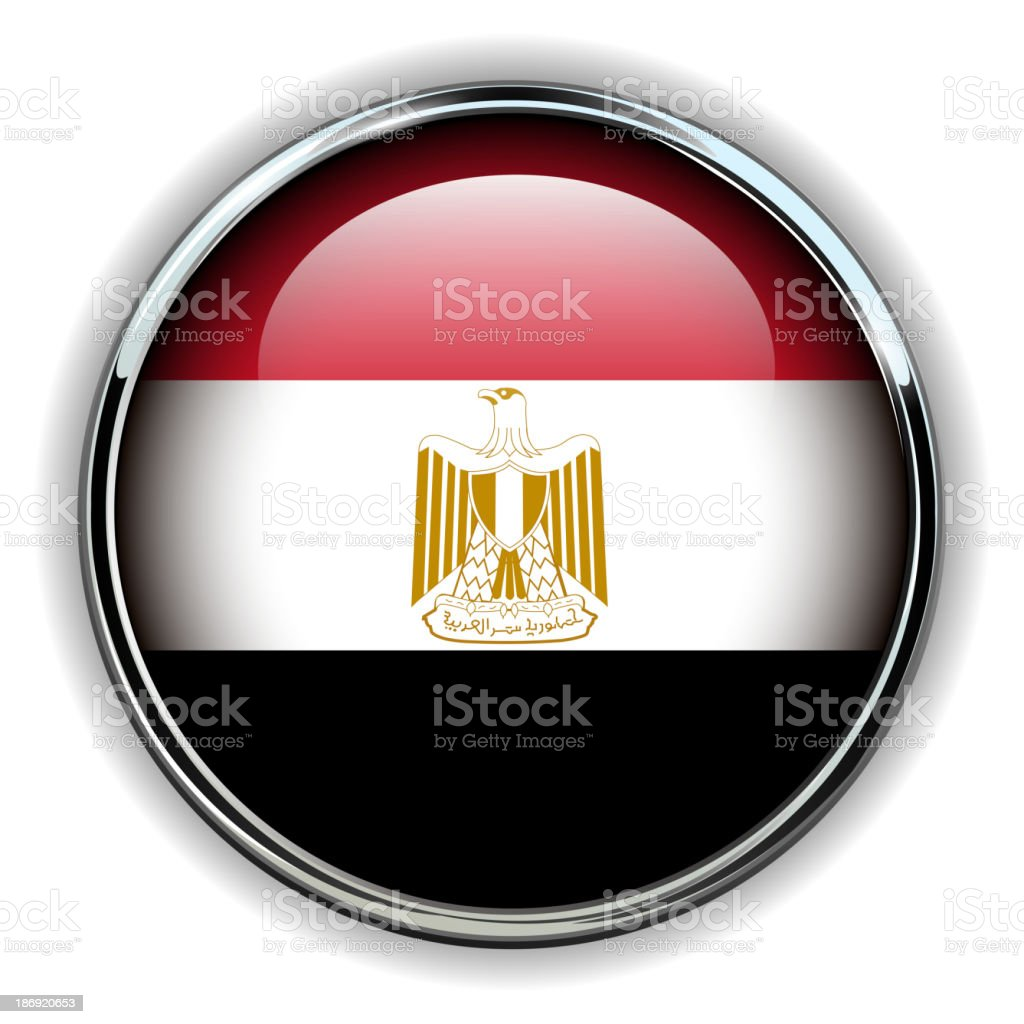 Egypt button royalty-free stock vector art