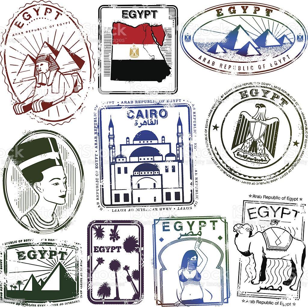 Egypt Exotica royalty-free stock vector art