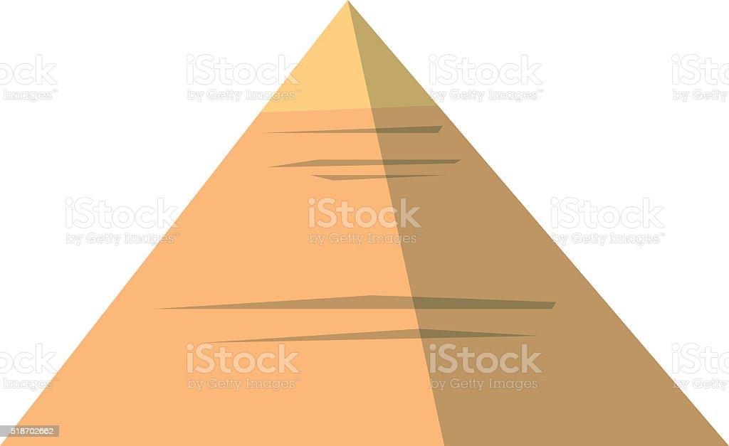 Egypt pyramids vector illustration vector art illustration