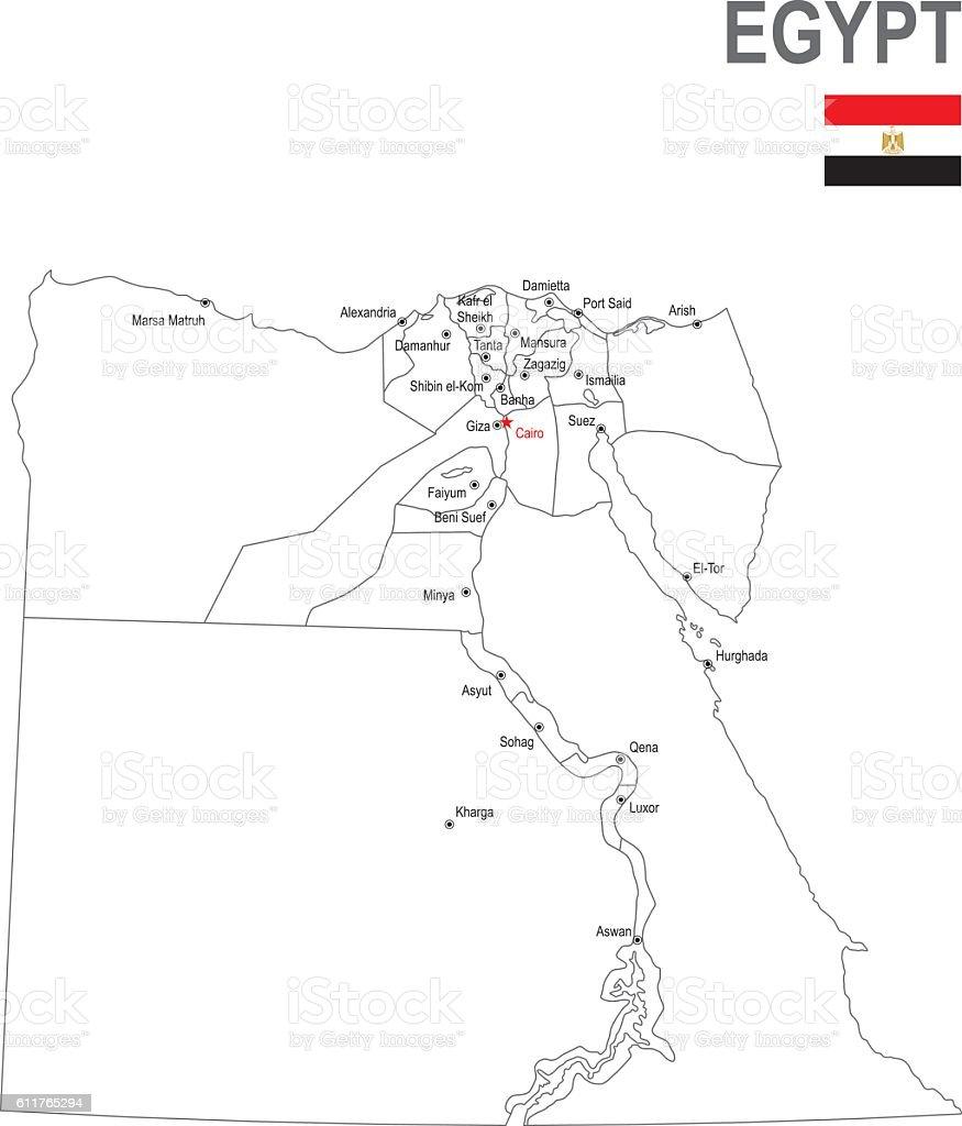 Egypt vector art illustration