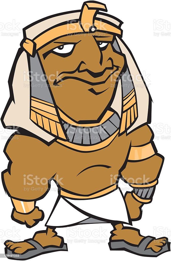 Egyptian Pharaoh royalty-free stock vector art