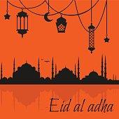 eid al adha muslim Feast of the Sacrifice.  Religion culture