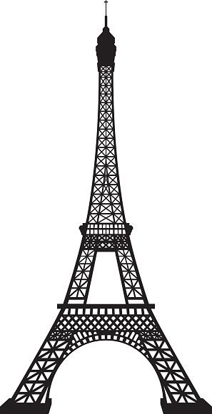 Clipart france eiffel tower
