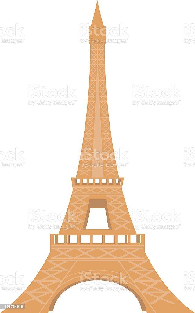 Eiffel royalty-free stock vector art