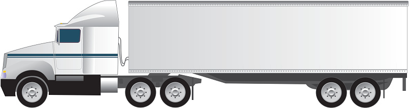Vehicle Trailer Clip Art, Vector Images & Illustrations ...