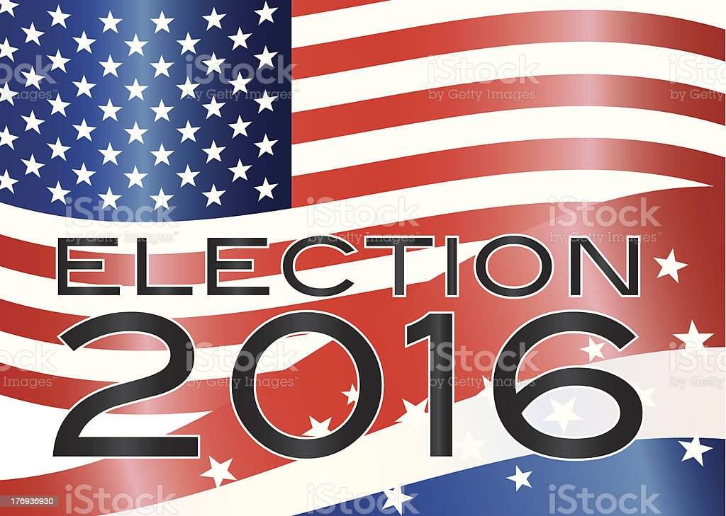 Election 2016 Illustration royalty-free stock vector art