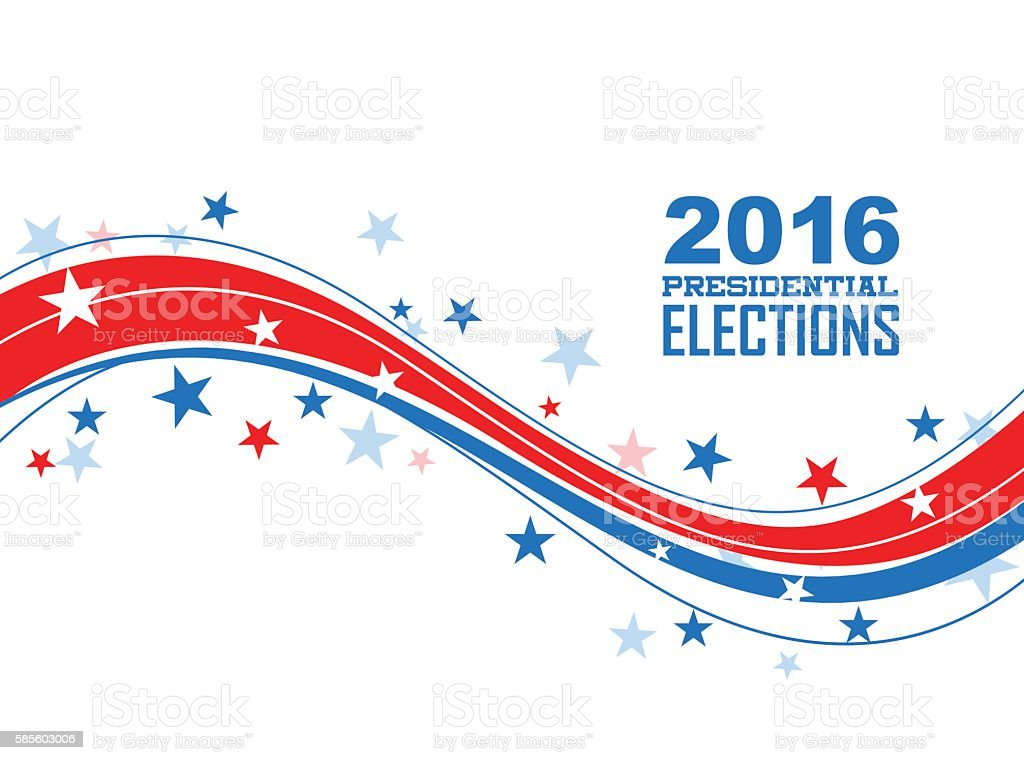 Election vector art illustration