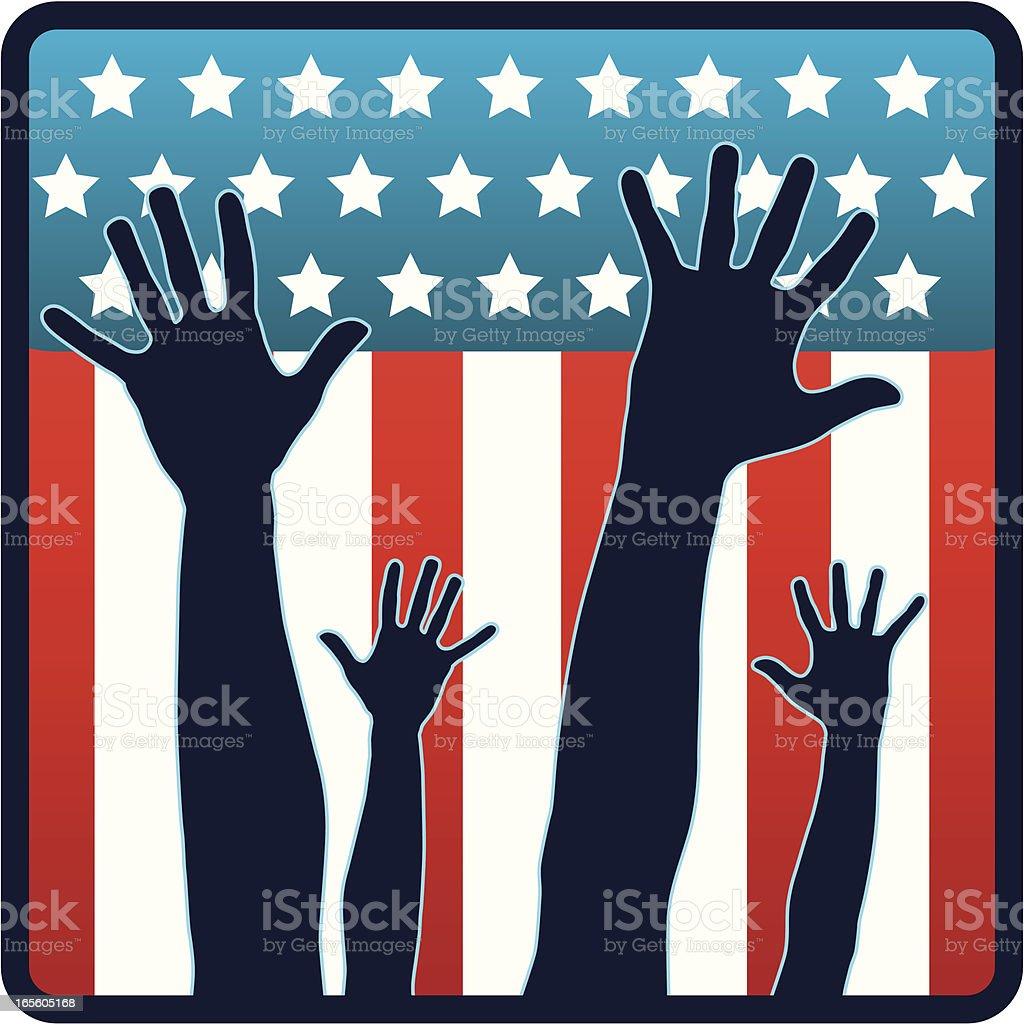 Elections USA royalty-free stock vector art
