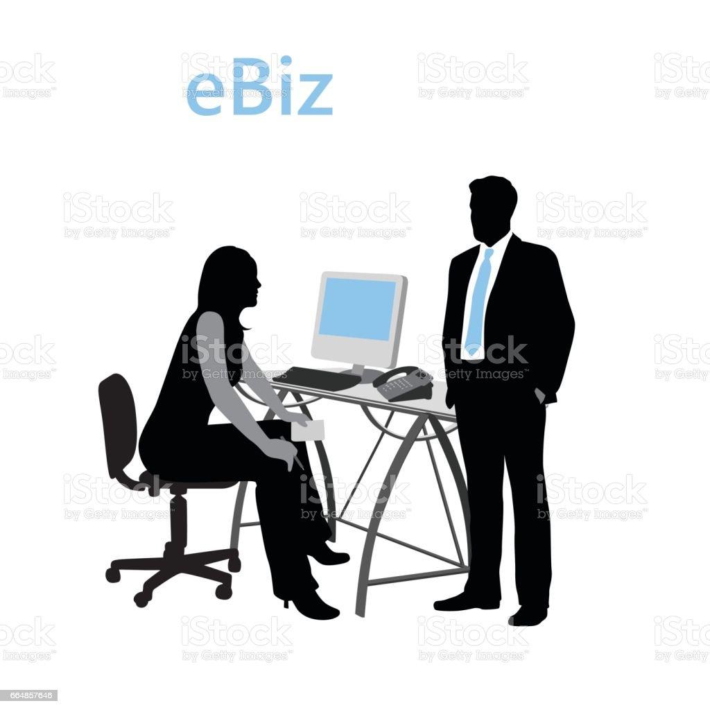 Electra Business vector art illustration