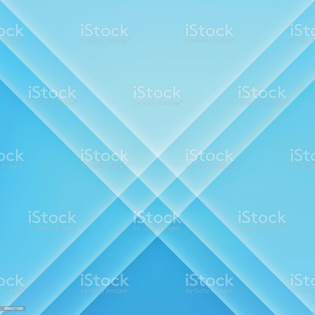 Electric Blue Modern Minimal Abstract Background vector art illustration